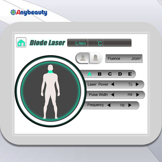 No Pain 808nm Diode Laser Hair Removal Permanent Effect For Salon / Clinic